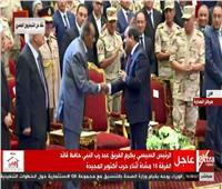 فيديو| الرئيس السيسى: المشير طنطاوى قاد البلاد فى أصعب الفترات
