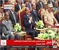 فيديو| الرئيس السيسي يشكُر أبطال فيلم «الممر»