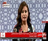 فيديو| هند صبري: «الممر» طريق عبرت به مصر من لحظات الانكسار للانتصار