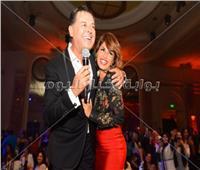 صور| النجوم يتألقن في حفل راغب علامة بالقاهرة