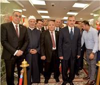 محافظ أسيوط يفتتح فرع بنك مصر بمقره الجديد