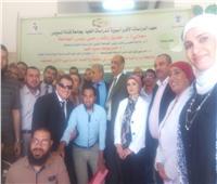 افتتاح المعهد الافرو أسيوي بجامعة قناة السويس