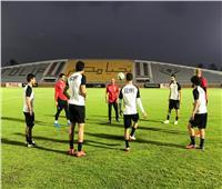 صور| منتخب مصر يختتم استعداداته لمواجهة بوتسوانا