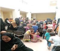 """ضمن المبادرة الرئاسية """"حياة كريمة"""" تقديم الخدمة الطبية بالمجان لألفين مواطن بقرى """"المنشاه"""" بسوهاج"""