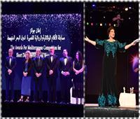 صور| نجوم الفن سعداء بتكريمهم على خشبة مسرح «مهرجان الإسكندرية»