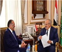 «الخشت» والسفير السعودي يبحثان التعاون المشترك في التعليم والثقافة