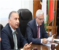 رئيس جامعة المنوفية يجتمع بمجلس كلية الاقتصاد المنزلي