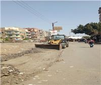 استمرار مبادرة «كلنا هنجملها» بجميع طرق وشوارع مدينة شبين القناطر