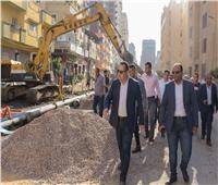 محافظ الإسكندرية يوجه بإزالة كافة أسباب الهبوط الأرضي في مشروعات الصرف