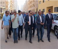 إلزام العقارات المخالفة بالإسكندرية بتكلفة وصلات المرافق والصرف