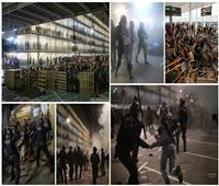 «الإقليم يشتعل».. مظاهرات ببرشلونة بعد حبس قادة الانفصال لـ«100 عام»