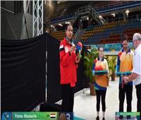 فاطمة الصاوي تفوز ببرونزية سباق 50م دولفين في بطولة العالم بأستراليا