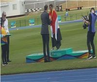 العداءة أفنان صالح تتوج بالذهبية الثانية في بطولة العالم بأستراليا