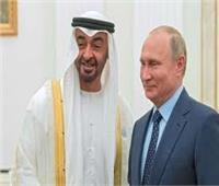 ولي عهد أبوظبي والرئيس الروسي يوقعان مذكرات تفاهم بين البلدين