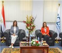 وصول وزيرتي الهجرة والتخطيط لافتتاح مؤتمر «مصر تستطيع بالاستثمار والتنمية»