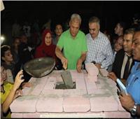 محافظ المنوفية يفتتح مسجد الشهيد «أنيس البمبى» بقرية بشتامي