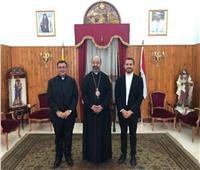 بطريرك الكاثوليك يستقبل رئيس كلية انتشار الإيمان بروما