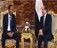 اللواء محمد إبراهيم يعلق على لقاء السيسي و«آبي أحمد» بشأن سد النهضة