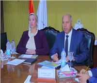 وزيرا النقل والبيئة يستعرضان خطة تحويل الموانئ المصرية إلى «خضراء»
