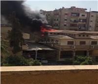 السيطرة على حريق بكنيسة مارجرجس في المنصورة