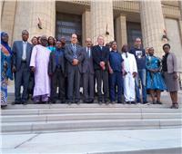 صور  القضاة الأفارقة يزورون محكمة النقض