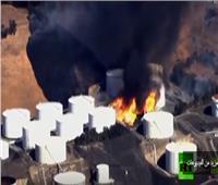 فيديو| اشتعال النيران في منشأة للطاقة قرب سان فرانسيسكو