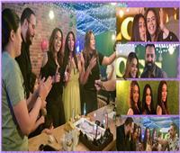 صور| ياسمين نيازي تحتفل بعيد ميلادها بحضور نجوم الفن
