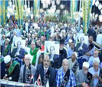 صور| احتفالية لمشيخة الطرق الصوفية في المولد الأحمدي