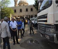 صور| محافظ الجيزة يتفقد أعمال تطوير شارع شهاب وطريق المريوطية