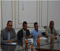 محافظ المنيا يناقش مع أعضاء مجلس النواب بـ4 مراكز عدد من الملفات والقضايا