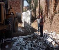 إزالات فورية لـ 30 حالة تعدي وبناء مخالف خلال أسبوعين سوهاج