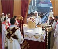 البابا تواضروس يدشن كنيسة العذراء ومار يوحنا في أنتوربين ببلجيكا