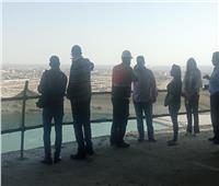 وزيرة الهجرة ووفد المستثمرين المصريين بالخارج يتفقدون أبراج العلمين الجديدة