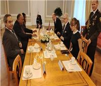 وزير الخارجية لرئيس لاتفيا: مصر حريصة على تطوير العلاقات مع دول البلطيق
