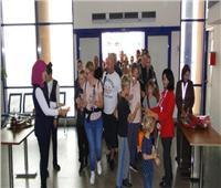 «سياحة النواب» ترحب بأول رحلة طيران قادمة من جنيف إلى مرسى علم