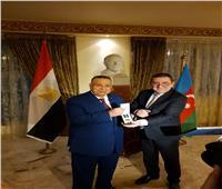 سفير أذربيجان يحتفل بمئوية جهاز بلاده الدبلوماسي