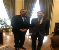 السفير معتز زهران: تعزيز العلاقات السياسية والاقتصادية مع سنغافورة