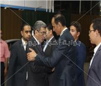 صور وفيديو| عزاء شقيق الكاتب الصحفي محمد البهنساوي بحضور شخصيات عامة وقيادات صحفية وإعلامية