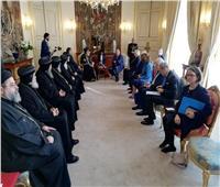 البابا تواضروس يزور مجلس الشيوخ البلجيكي