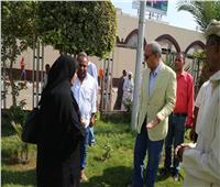 صور| تطوير محيط مسجد سيدي عبدالرحيم القنائي