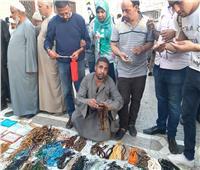فيديو| بائع السبح بمولد السيد البدوي: «ربنا بيرزقنا والأسعار حلوة»