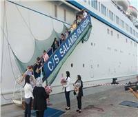 بعد توقف 10 سنوات| ميناء الإسكندرية يستقبل أول باخرة سياحية قبرصية