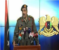 الجيش الليبي يوجه رسالة إلى مصر