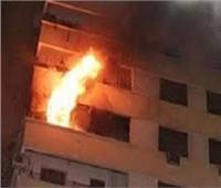 نشوب حريق بشقة سكنية في مدينة السلام