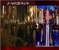 فيديو| عمرو أديب يفتح النار على «السوشيال ميديا» بسبب تظاهرات لبنان