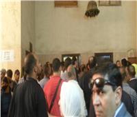 وصول محمد راجح المتهم الرئيسى بقتل «محمود البنا» لمحكمة شبين