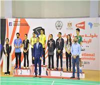 ختام ناجح لبطولة مصر الدولية الخامسة للريشة الطائرة