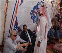 محافظ جنوب سيناء يفتتحمعرض المشغولات اليدويةبوادي مكتب