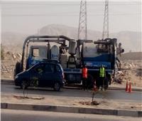 رسلان: رفع درجات الاستعداد وانتشار المعدات وسيارات شفط المياه لمواجهة للأمطار
