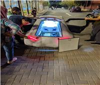 طلاب هندسة جنوب الوادي يصممون سيارة جديدة تعمل بالكهرباء